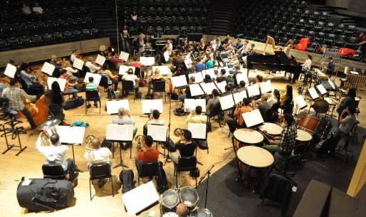 """Orquesta Sinfónica de Venezuela grabando """"El Camino de Santiago llega a ti"""" 2017"""
