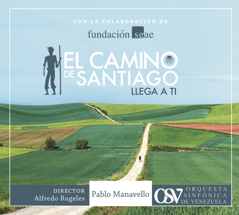 "Disco ""El Camino de Santiago llega a ti"""