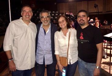 Rafael Rondón, Alfredo Rugeles, Sofia Manavello, Justo Morao