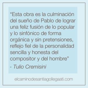 T Cremisini Reseñas - El Camino